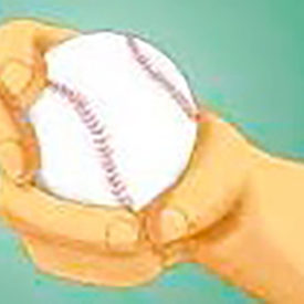 What is a curveball?