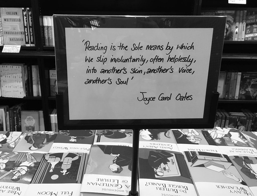 Joyce Carol Oats Quote